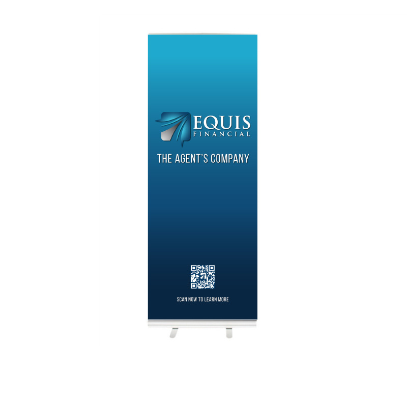 Equis Banner Stand 33x84