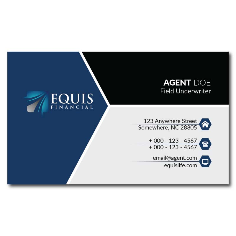 Equis Business Cards