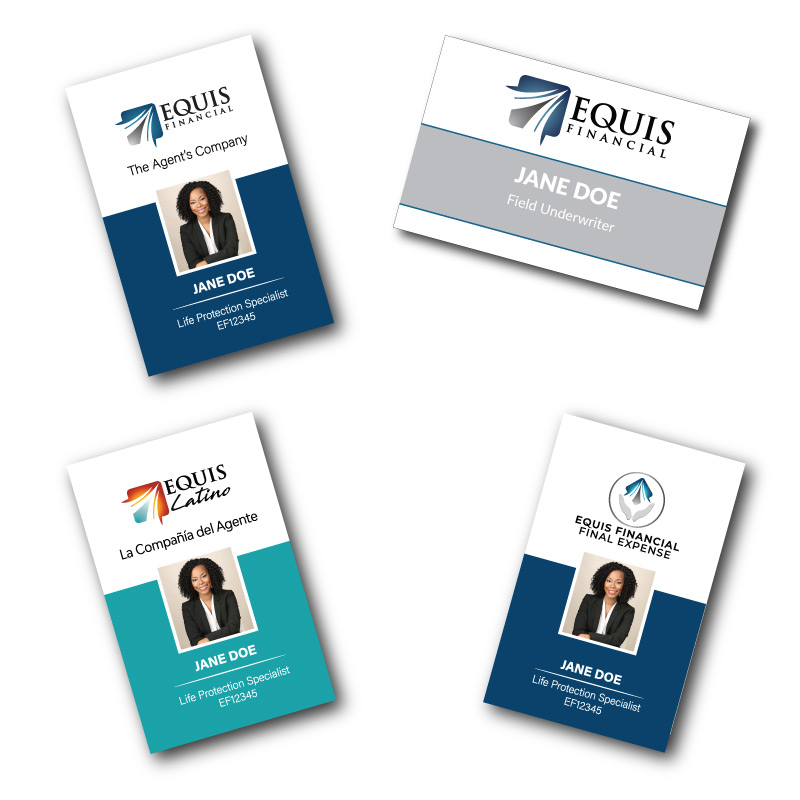 Equis Financial Nametags/Photo IDs