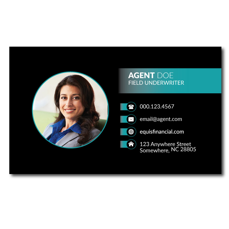 Equis Business Cards Latino