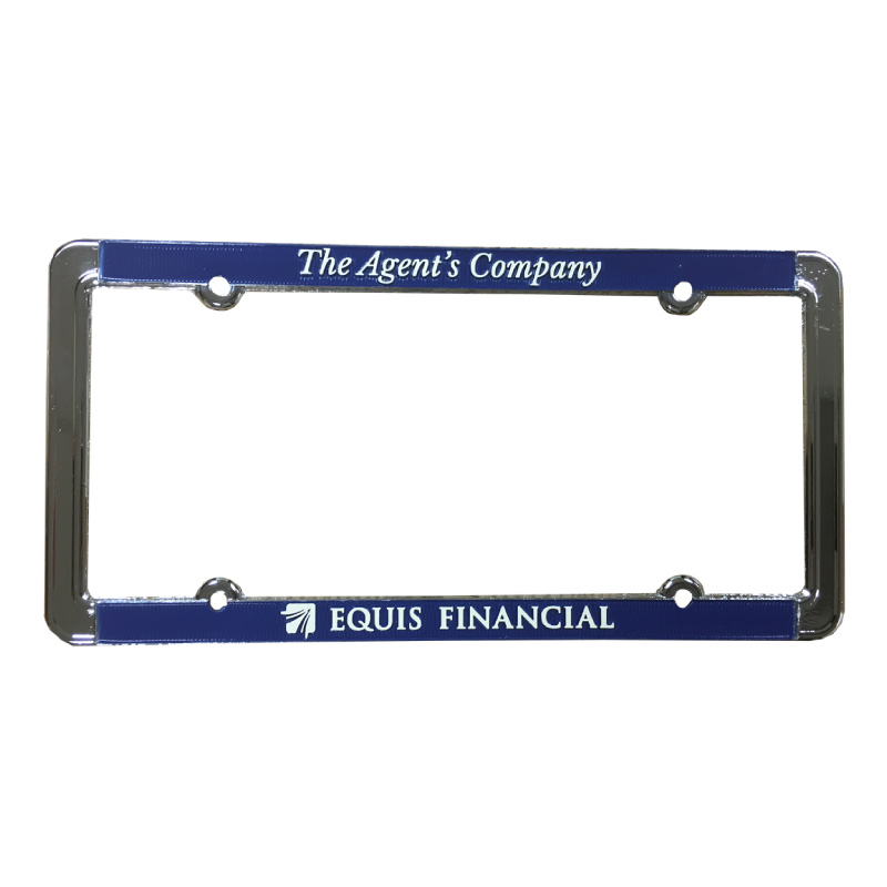 Equis License Plate Frame