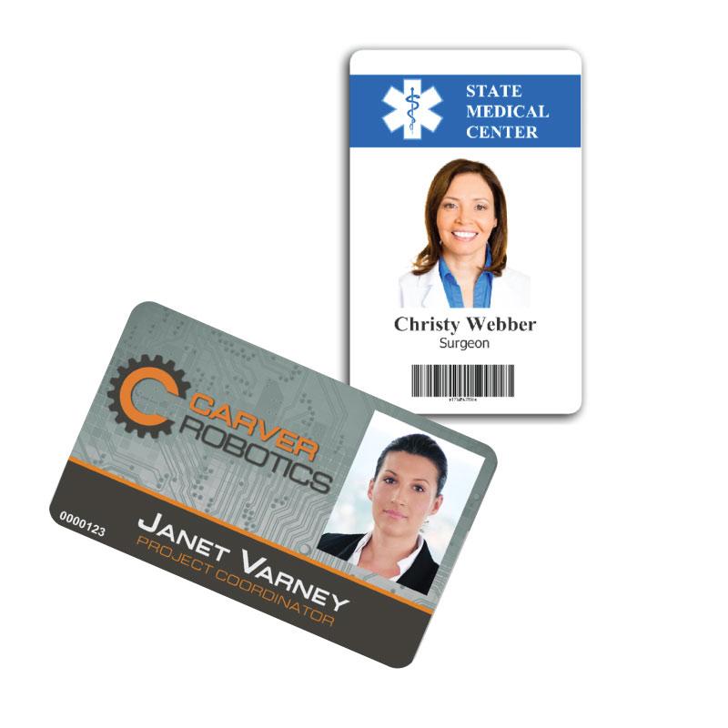 custom nametags  custom id cards  id badge cards  nvr