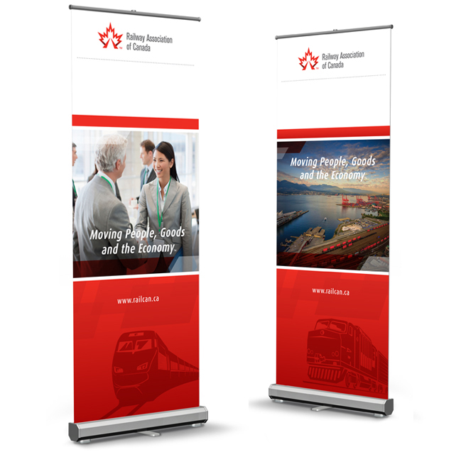 Trade Banner Stands : Trade show booth display nvr branding
